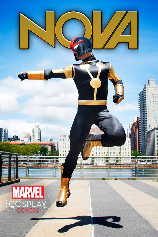Nova #1 Cosplay Variant by Cap Santiago