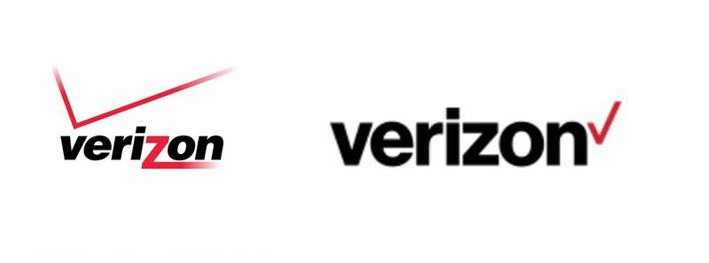 Old logo on the left. New logo on the right.
