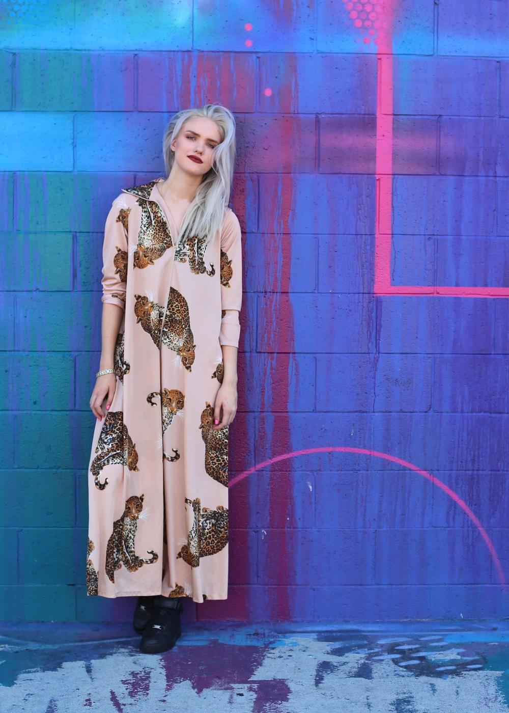 Heidi Hakkanen ( Fashion Student/Blogge r)  @SleeplessinSuburbia  www.PostSuburbia.com  --  Downtown LA  Los Angeles, Ca