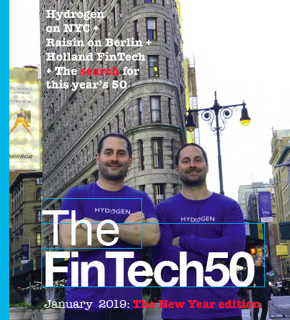 FinTech50 2018 Yearbook
