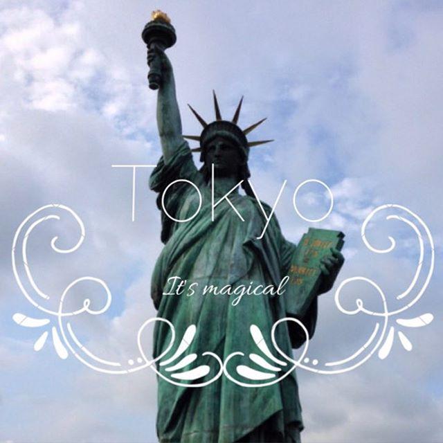 Tokyo, where magical things happen #travel, #odaiba, #statue, #tokyo, #japan #startup, #app http://www.anchorup.jp