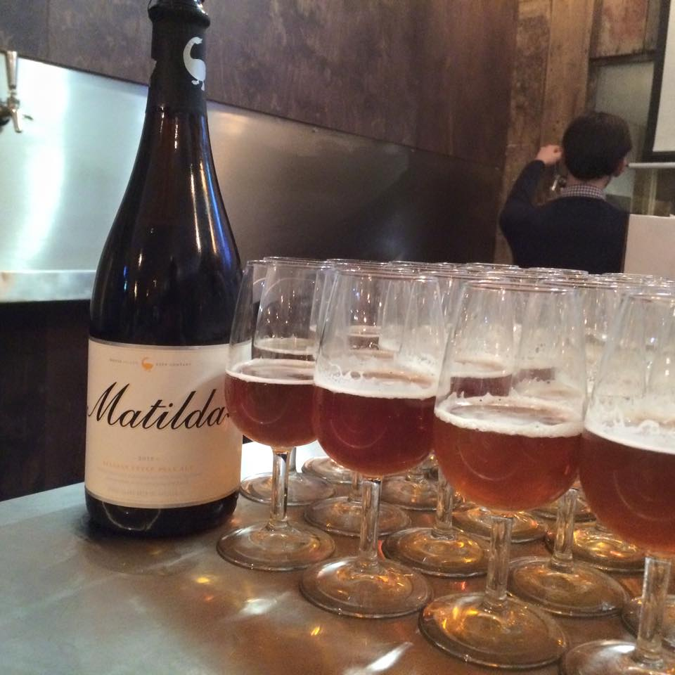 Matilda the Goose Island Orval tribute