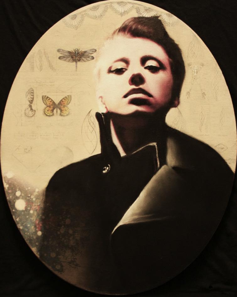 """Natasha, oil on canvas, 36"""" x 24"""", 2012"""