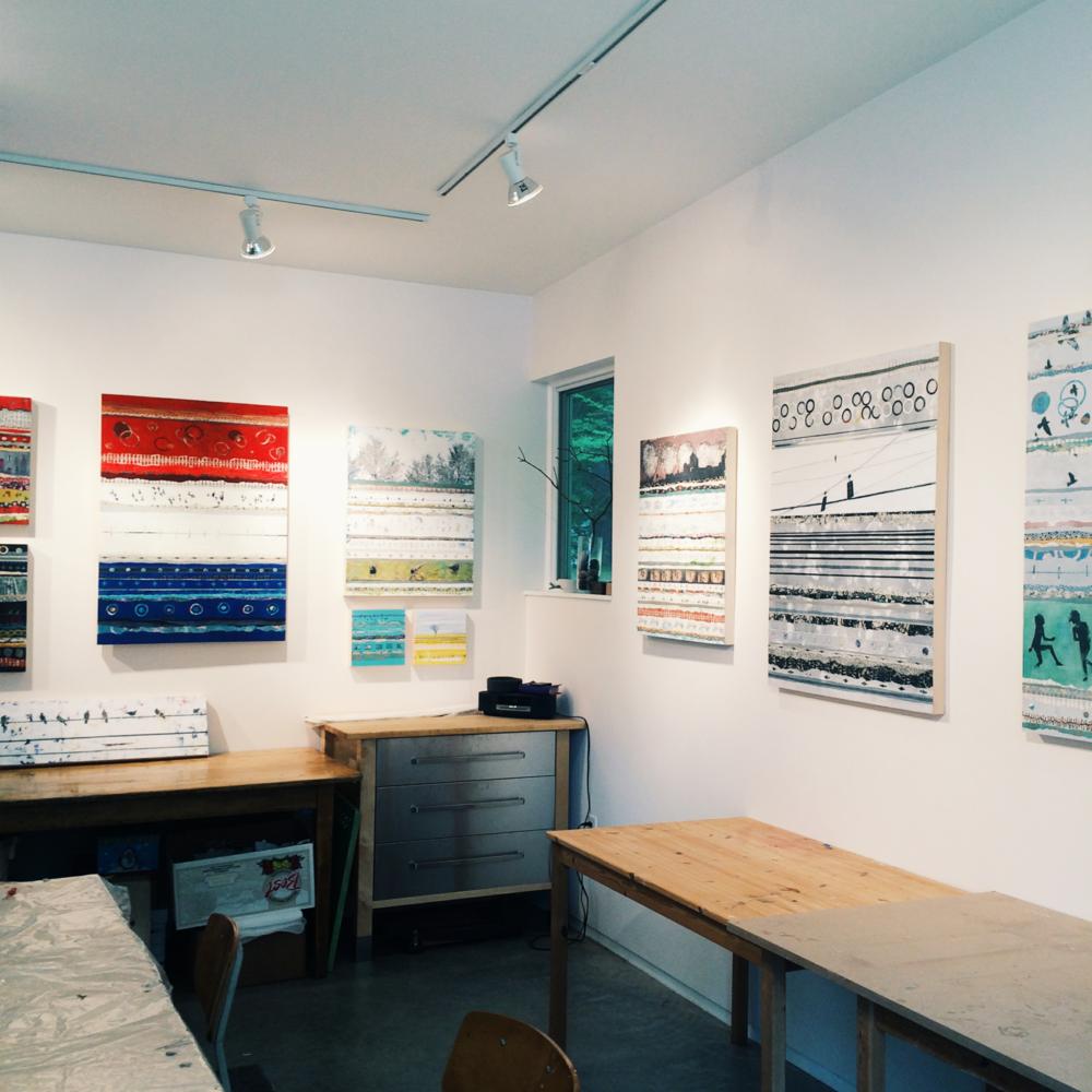 Harrison's Concord studio