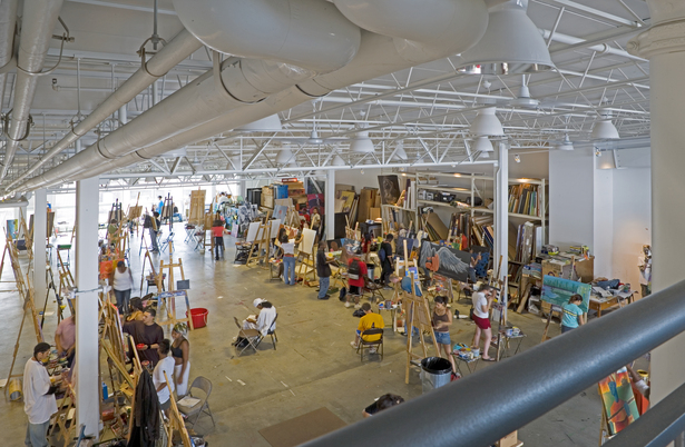 AFH Epicenter Main Studio Photo by Richard Mandelkorn Image Courtesy of Archinect Firms