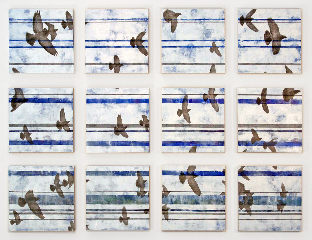 A Rumble of Wings<br>36 x 46 in.