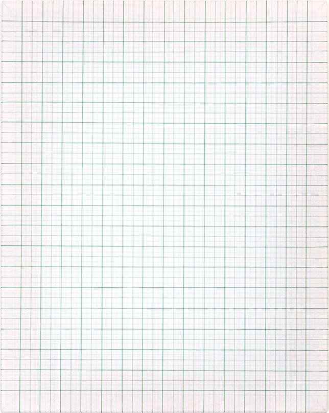 <b>Aqua Vellum</b><br>Cotton Thread on White Muslin<br>20 x 16 in.