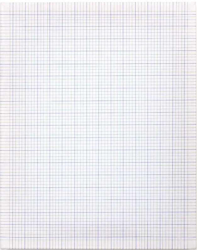 <b>Earth Vellum</b><br>Cotton Thread on White Muslin<br>20 x 16 in.