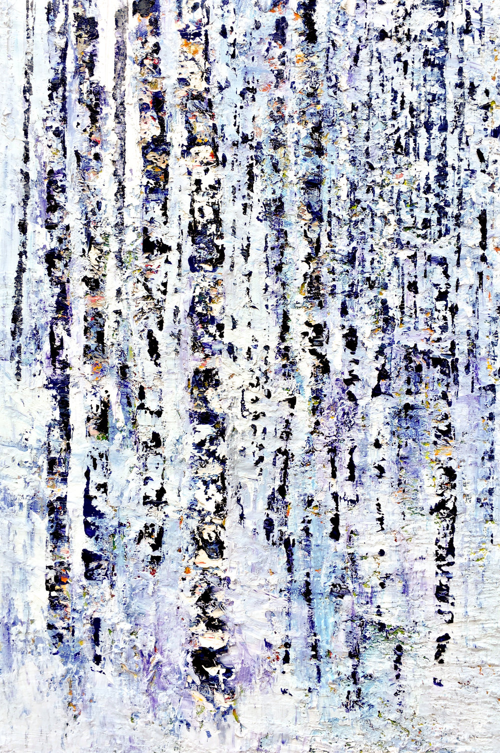 Winter Mountain<br>36 x 24 in.