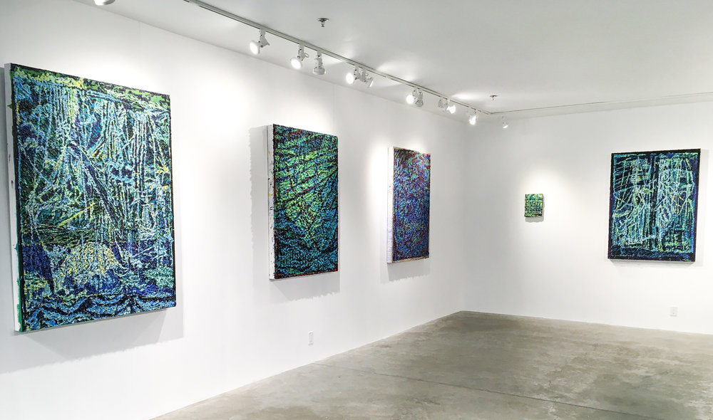 Installation view of Secrets of the Sea