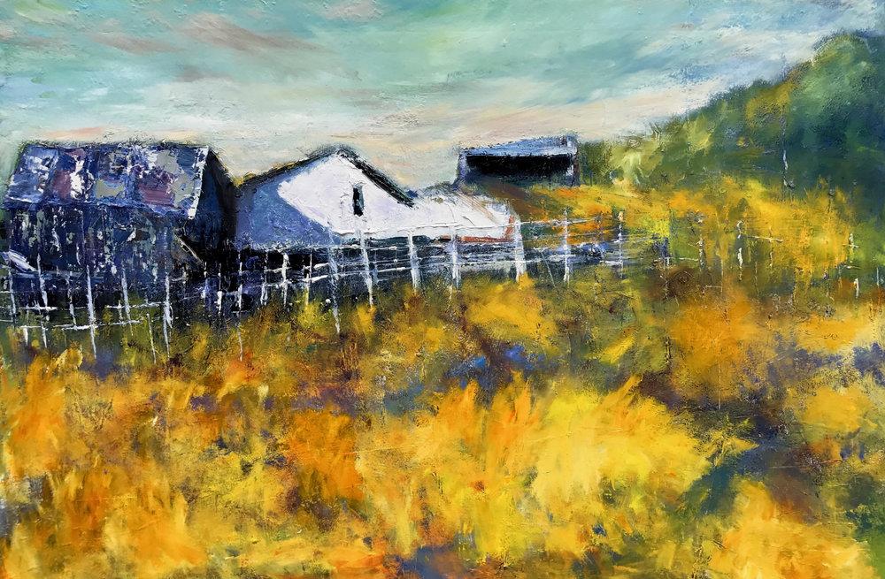 <i>Hilltop Farmhouse</i><br>Julia S. Powell