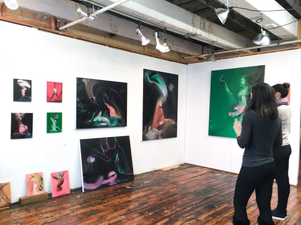 Inside Ariel Basson Freiberg's Studio