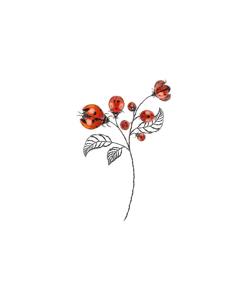 <b>Cassandra C. Jones</b><br>Seven for Rose<br>24 x 20 in. (framed)