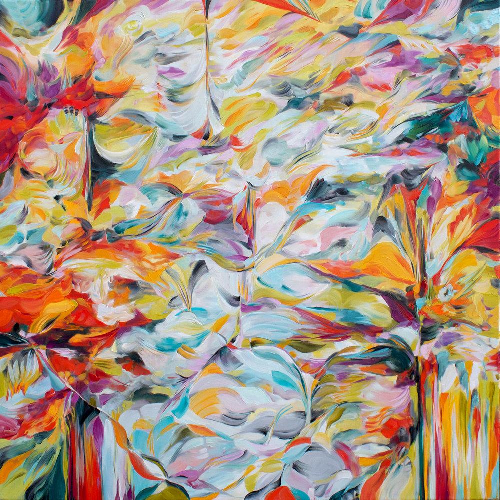 <b>Natalia Wróbel</b><br>The Cave Dweller<br>48 x 48 in.