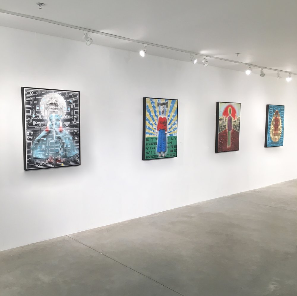 Install shot from Stranger Danger at Abigail Ogilvy Gallery