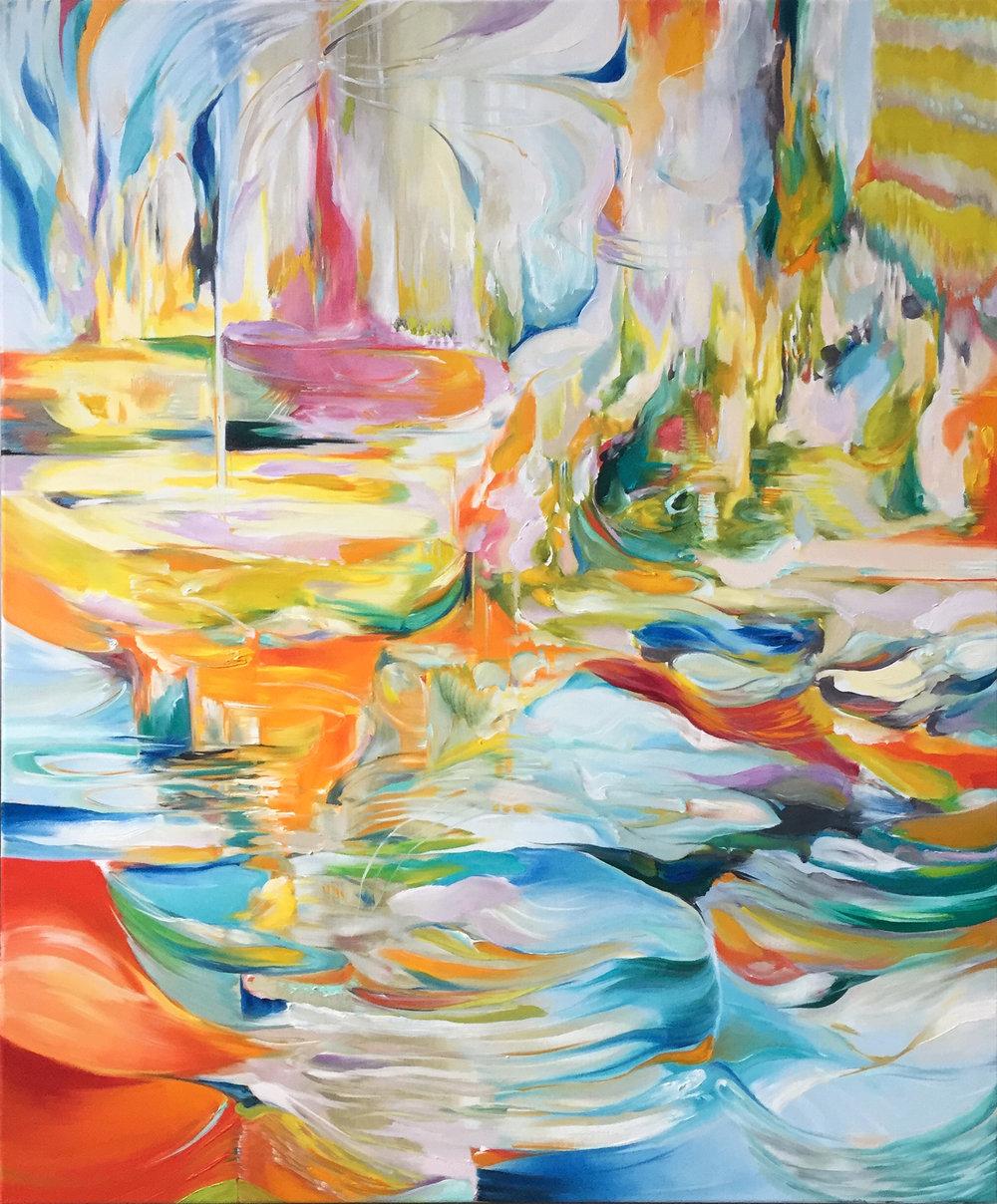 <b>Natalia Wróbel</b><br>Luminous Undercurrent<br>47.2 x 39.4 in.