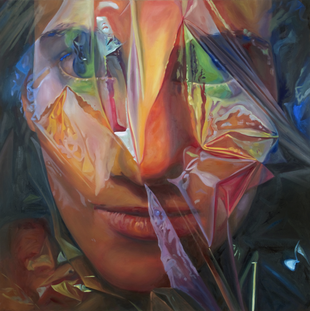 <br><b>Marisa Adesman</b><br>Veil<br>48 x 48 in.