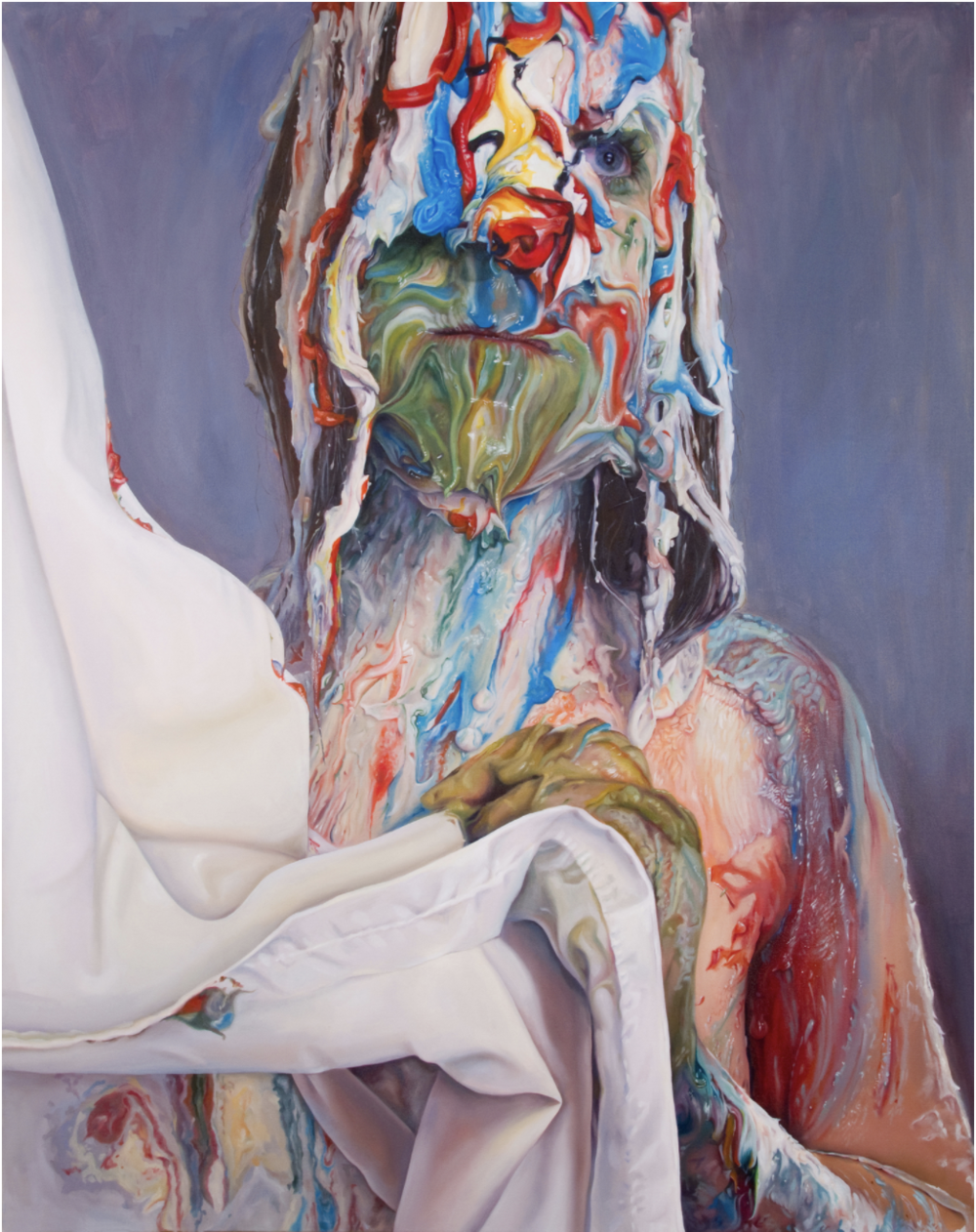 <br><b>Marisa Adesman</b><br>Vertumnus' Bride<br>60 x 48 in.