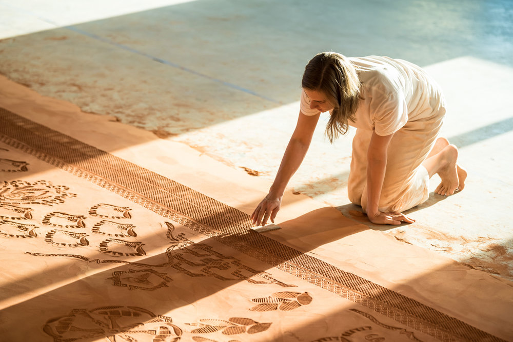 Image result for red dirt rug abigail ogilvy gallery