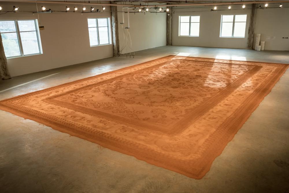 Red Dirt Rug Monument 2017: https://www.renadetrixhe.com/red-dirt-rug-monument