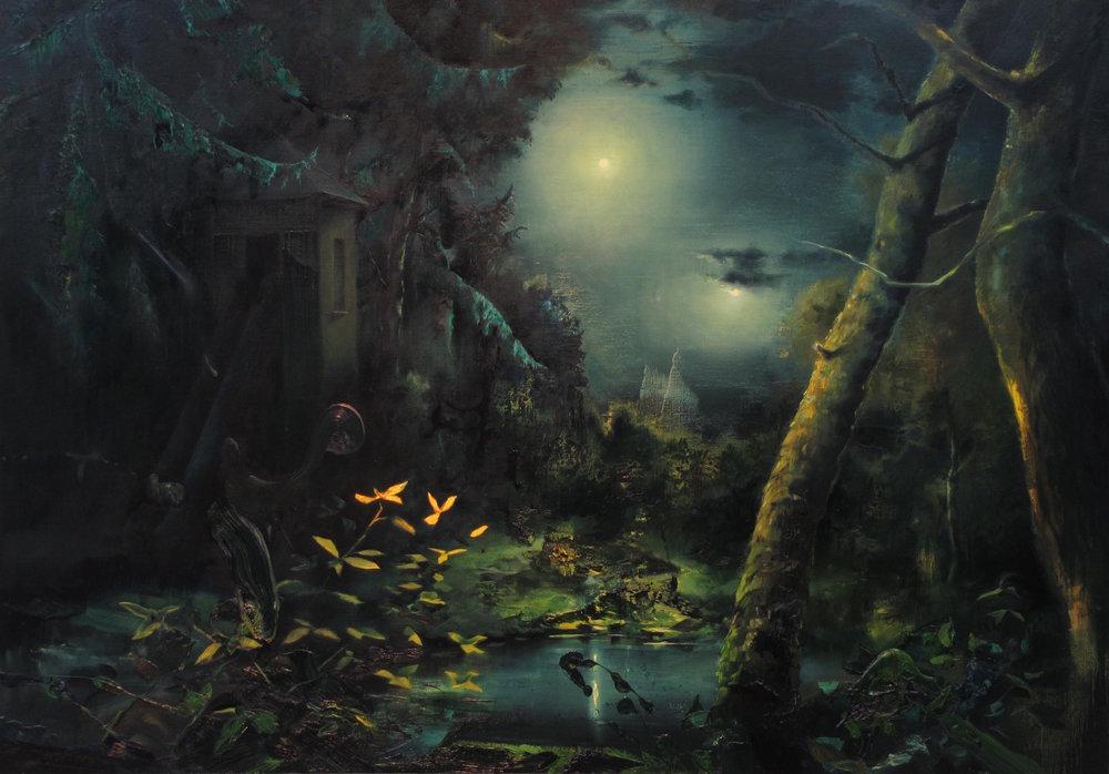 Nocturne/Doublemoon (1729), Wilhelm Neusser