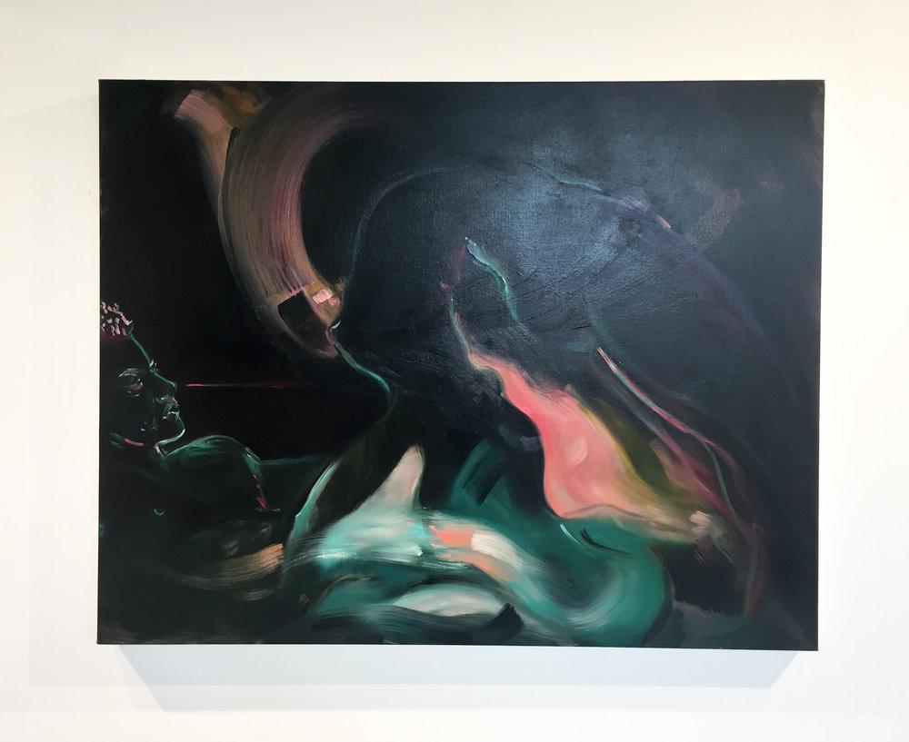 Glow , Ariel Basson Freiberg, Oil on linen, 36 x 48 in.