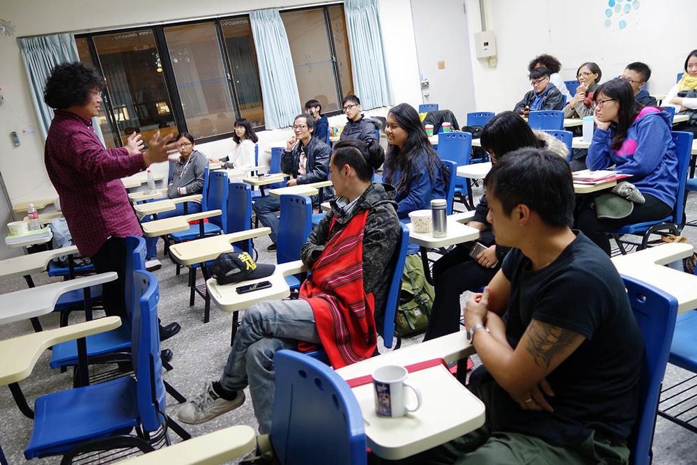 基進筆記演講 @清華大學