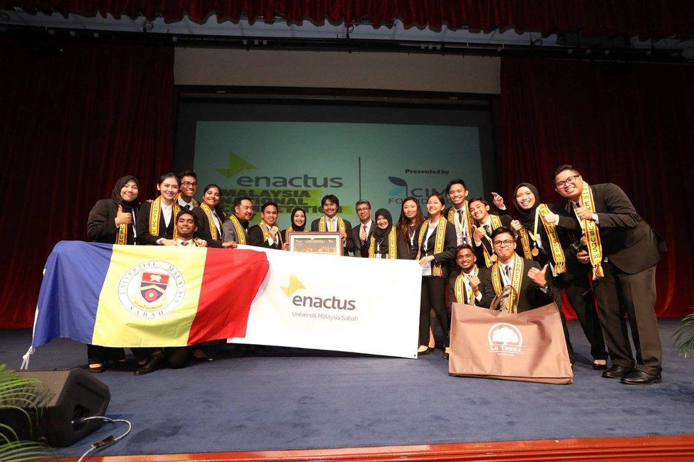 University Malaysia Sabah, Enactus Malaysia National Champion 2017.