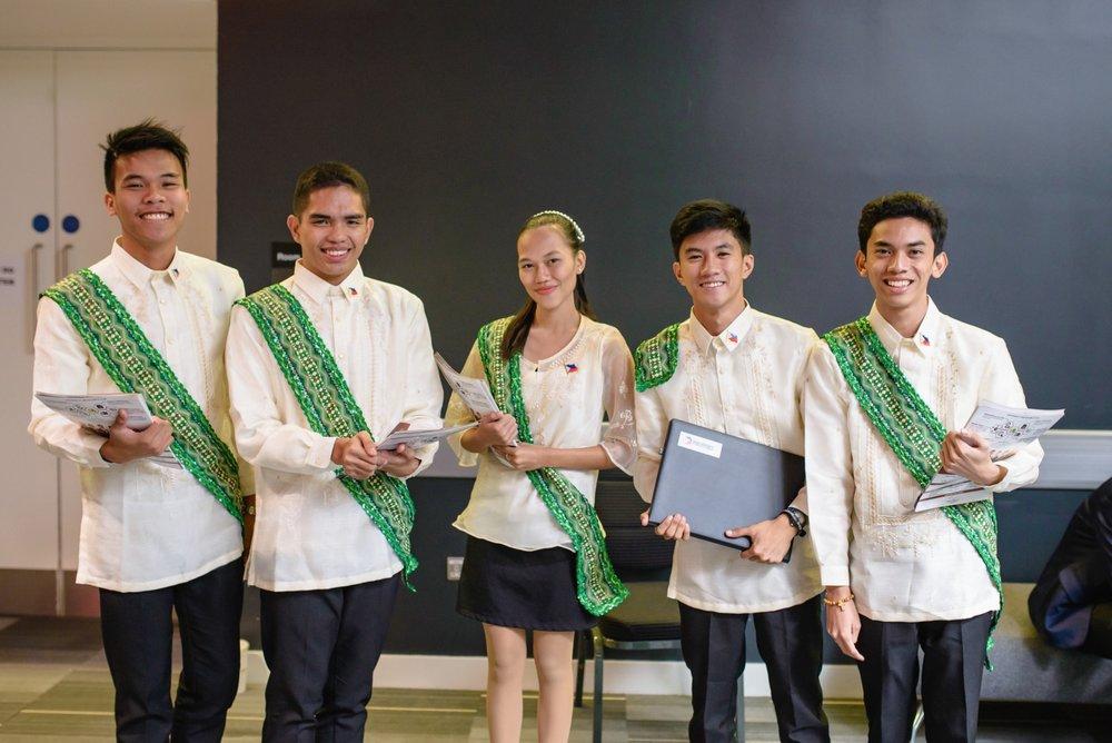 Team Philippines at Enactus World Cup 2017