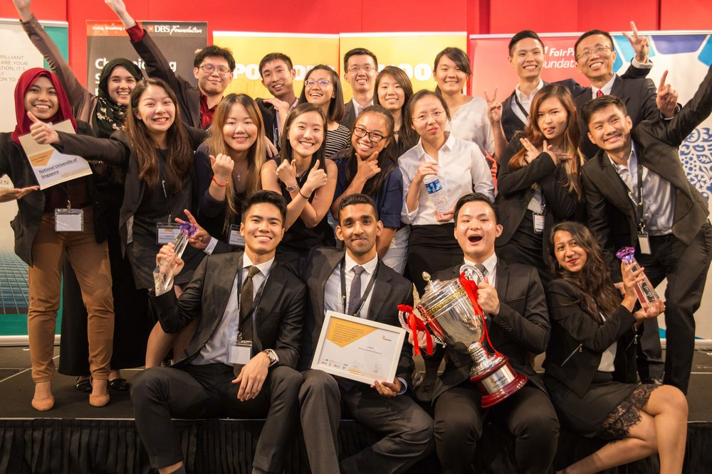 Team NUS emerged as the National Champion of 2017, and will later represent Singapore in the World Cup competition