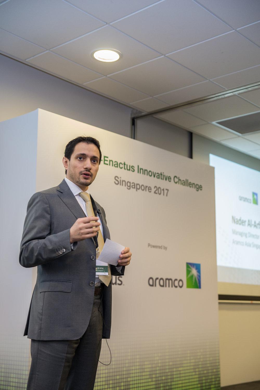 Opening Speech by Nader Al-Arfaj, Managing Director of Aramco Asia Singapore