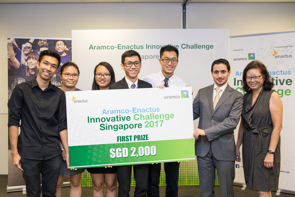 Team Second Nature from NTU emerged as champion for the Singapore Finals!