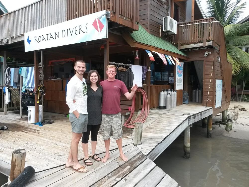 Garrett Allison PADI Roatan Divers