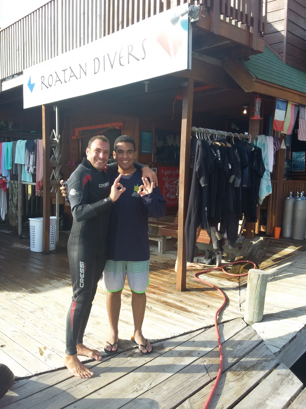 Federico PADI Open Water e-Learning Roatan Divers