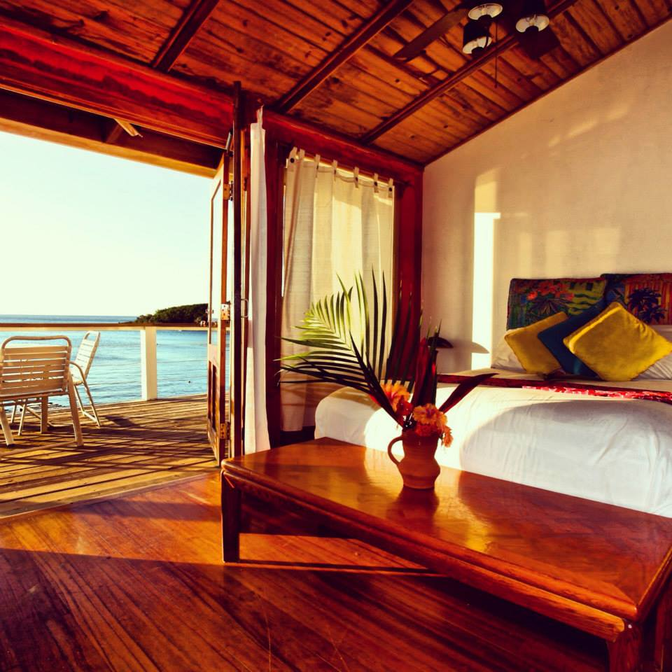 The Beach House Roatan room