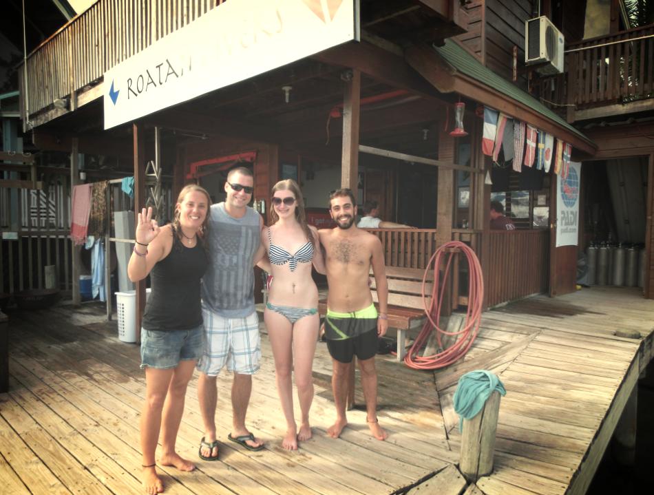 Dana Kevin PADI DSD Roatan Divers