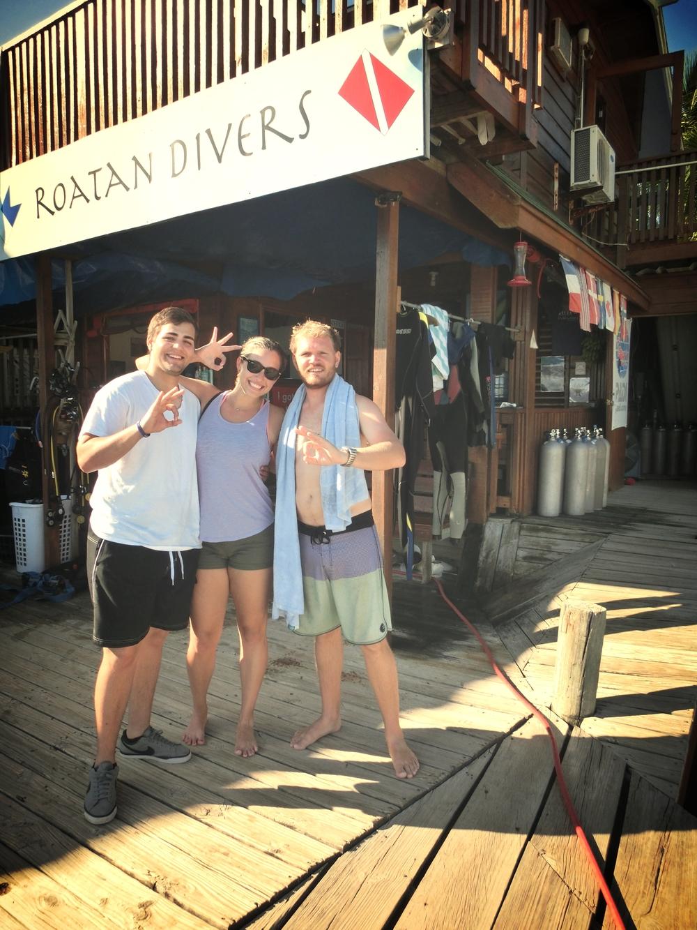 Rick PADI DSD Roatan Divers