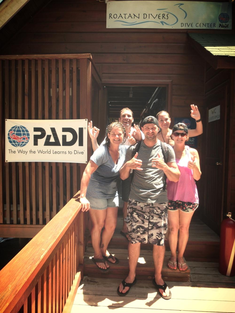 John PADI DSD Roatan Divers