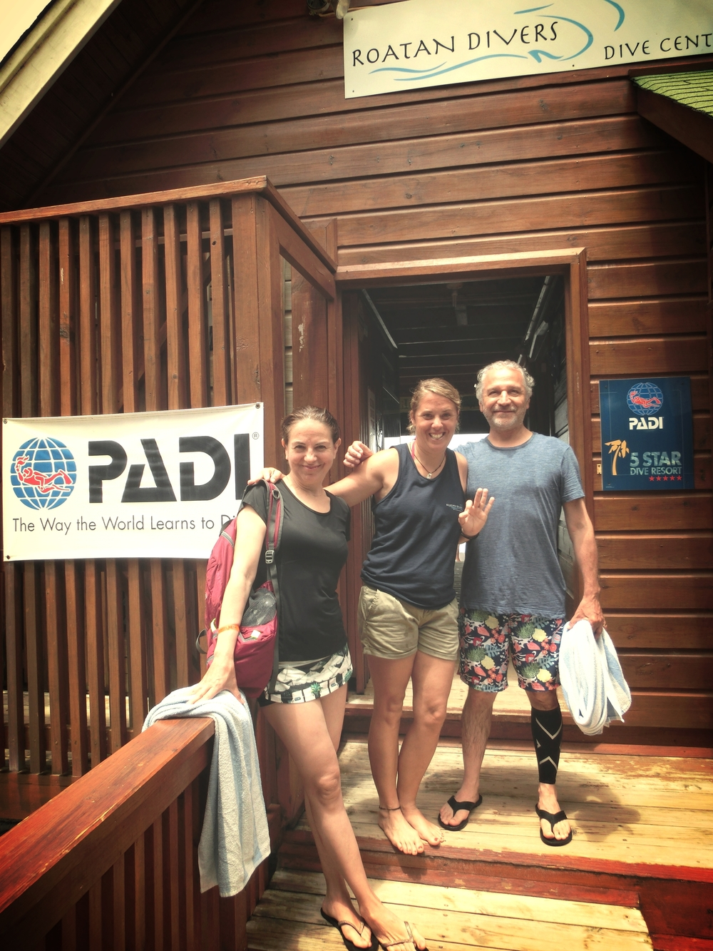Elide Richard PADI Scuba Diver Roatan Divers