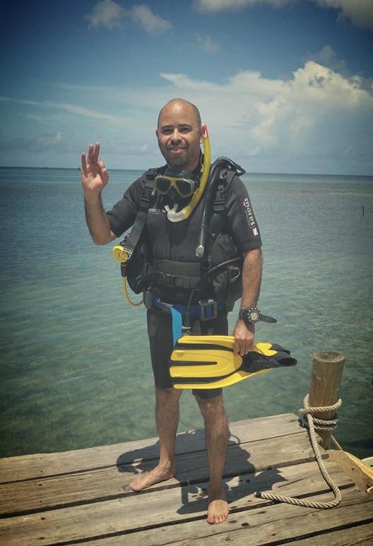 Luis PADI Open Water Diver