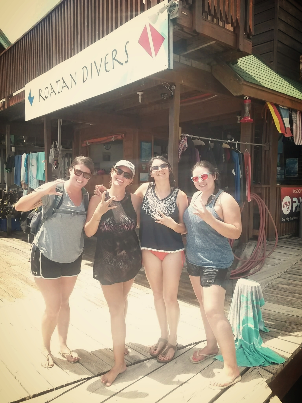 Team WC Roatan Divers