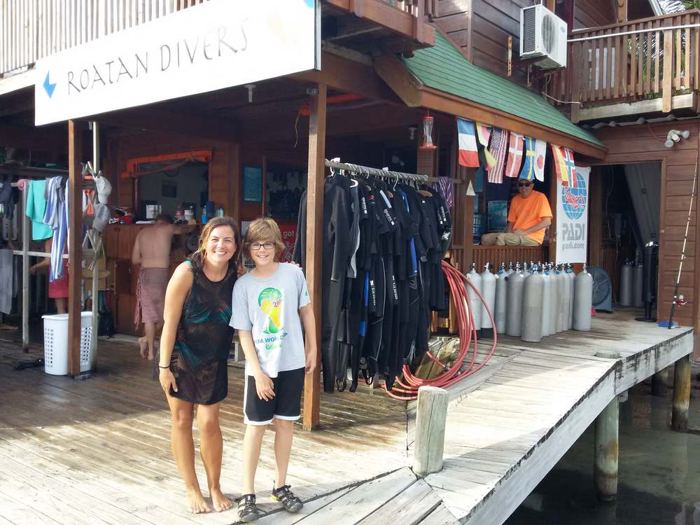 PADI Junior Open Water Diver Roatan