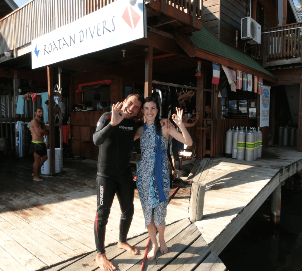 PADI Advanced Open Water Roatan Divers