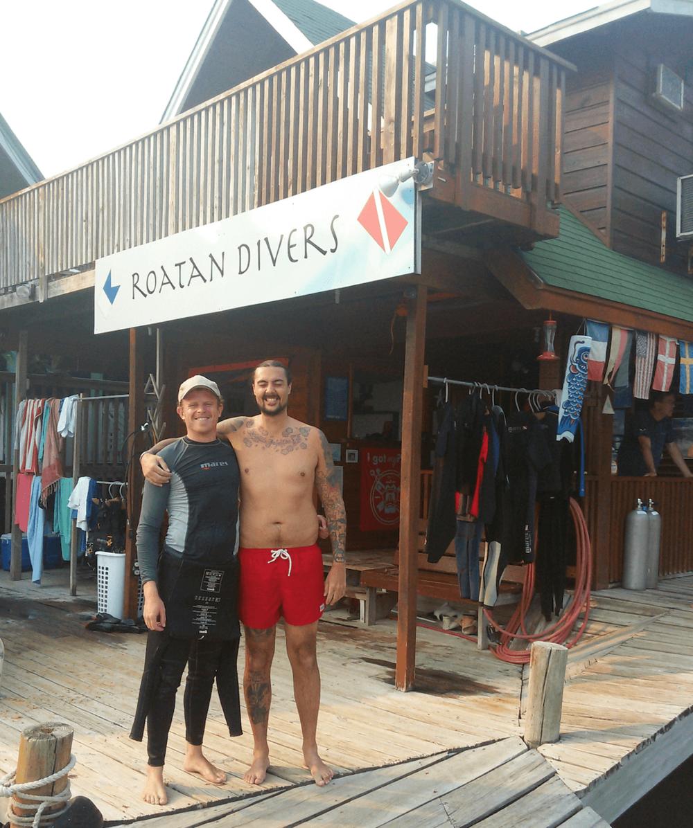 Niklas PADI Open Water Diver Roatan Divers