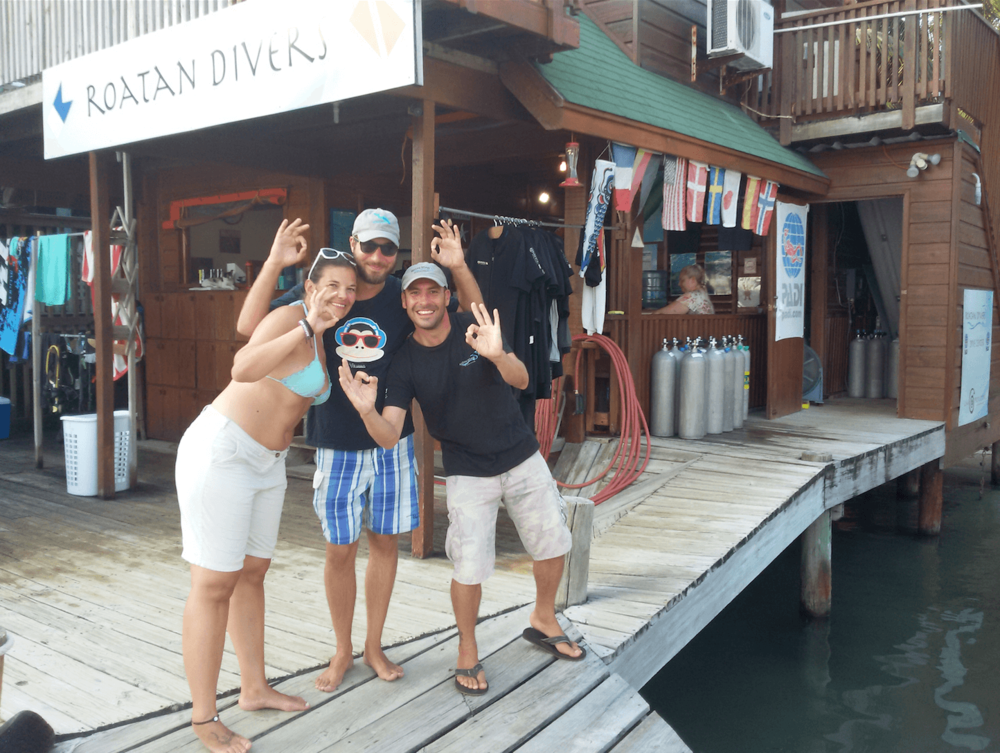 PADI Open Water Diver Roatan Divers