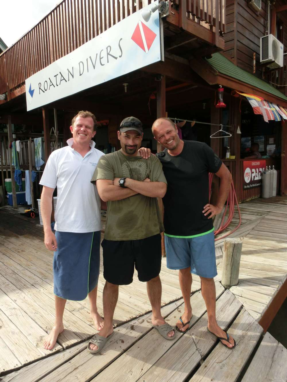Ed PADI Open Water Touch Roatan Divers