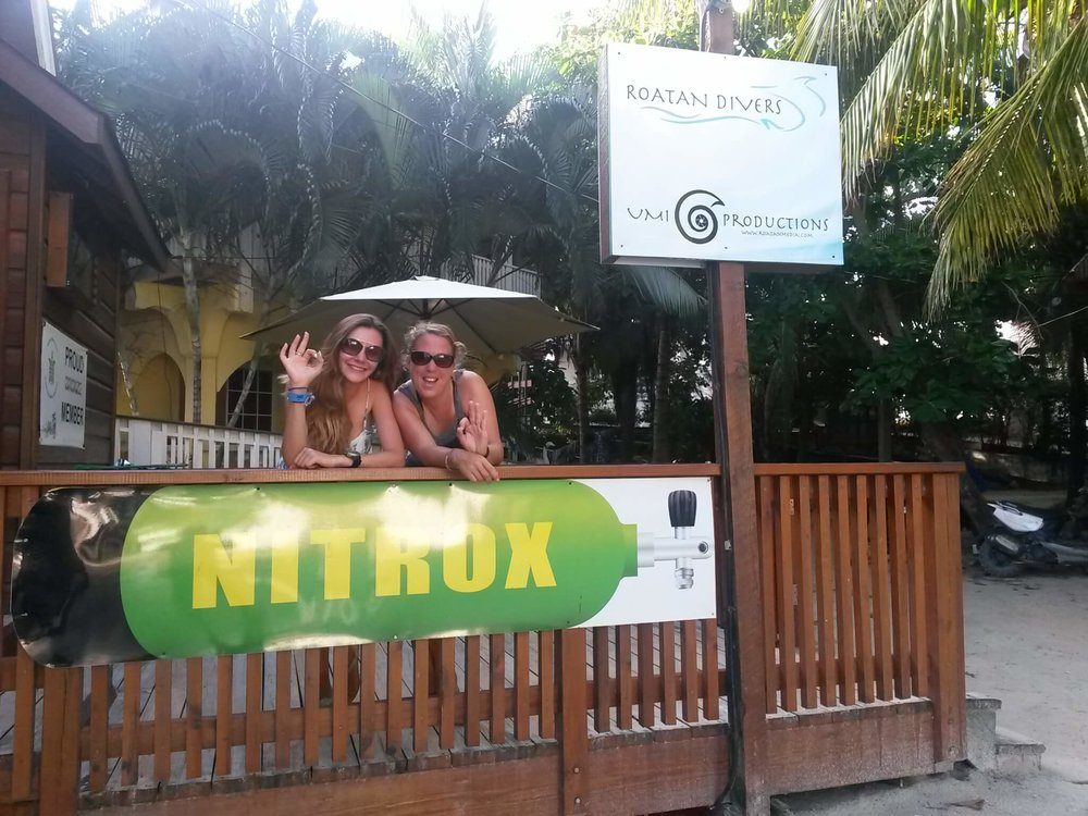 Enriched Air Nitrox Roatan Divers