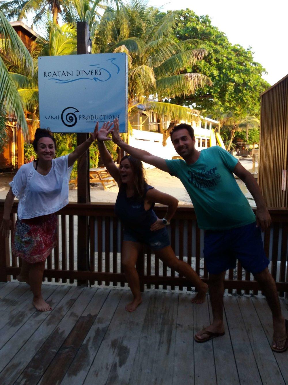 get scuba certified Roatan Divers
