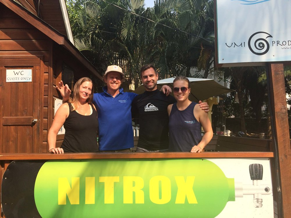 nitrox fun dives certified roatan