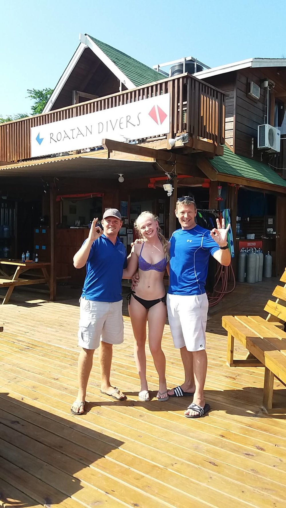 PADI scuba diving Roatan Divers